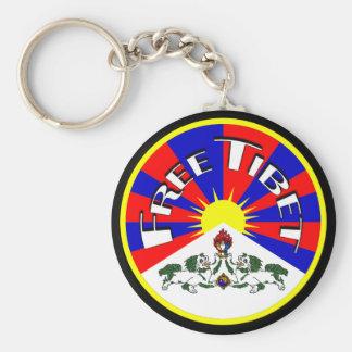 Free Tibet Keychain