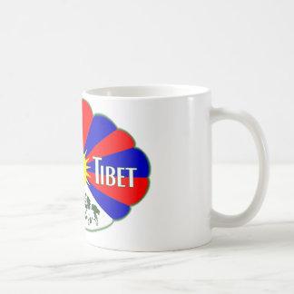 Free Tibet Label Coffee Mug