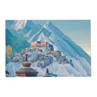 Free Tibet laminated placemat