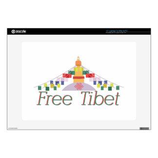 Free Tibet Laptop Decals