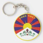 Free Tibet Llavero