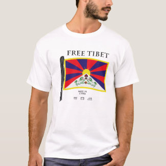 Free Tibet! Made In China T-Shirt
