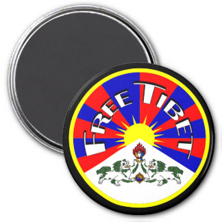 Free Tibet Magnets