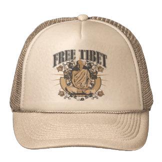 Free Tibet Monk Trucker Hat