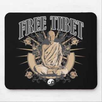 Free Tibet Monk Mouse Pad