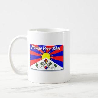 Free Tibet Classic White Coffee Mug