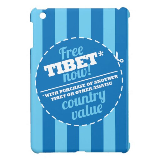 Free Tibet Now! iPad Mini Cases