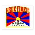 FREE TIBET POST CARDS