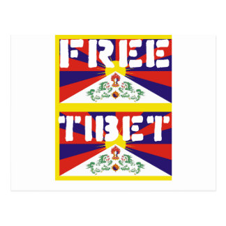 Free Tibet! Postcard
