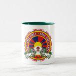 Free Tibet Round Logo Coffee Mugs