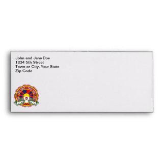 Free Tibet Round Logo Envelope