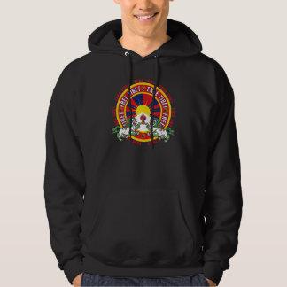 Free Tibet Round Logo Hoodie