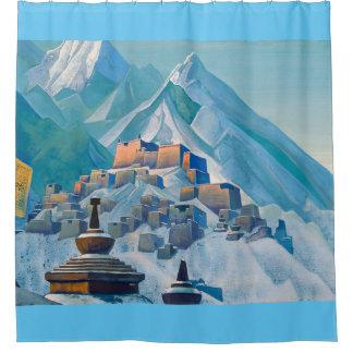 Free Tibet shower Shower Curtain