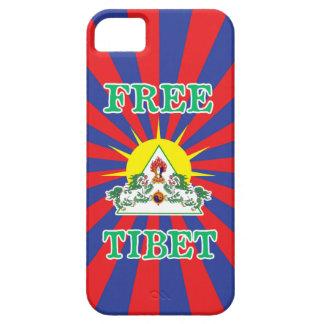 Free Tibet Snow Lions and Sun Symbol iPhone SE/5/5s Case