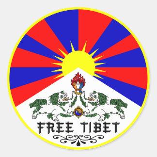Free Tibet Sticker