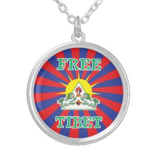 Free Tibet - Tibetan Flag with Snow Lions Custom Jewelry