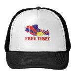 FREE TIBET / TIBETAN FREEDOM TRUCKER HAT
