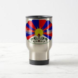Free Tibet Travel Mug