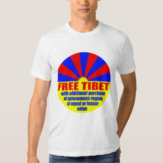 Free Tibet With Additional Purchase Shirt