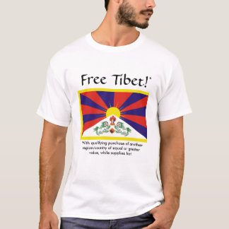 Free Tibet (with qualifying purchase) T-Shirt