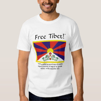 Free Tibet (with qualifying purchase) Tees