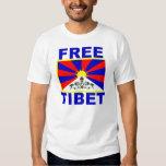 Free Tibet with Tibetan Flag Shirt