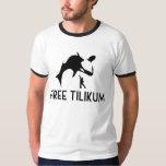 Free Tilikum Save the Orca Killer Whale T Shirt