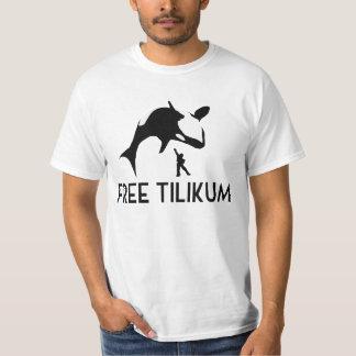 Free Tilikum Save the Orca Killer Whale T-Shirt