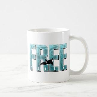 Free Tilly Blue Coffee Mug