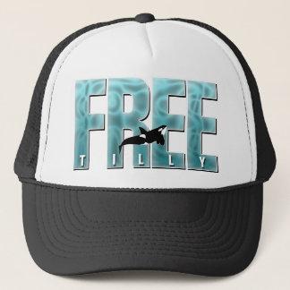 Free Tilly Blue Trucker Hat