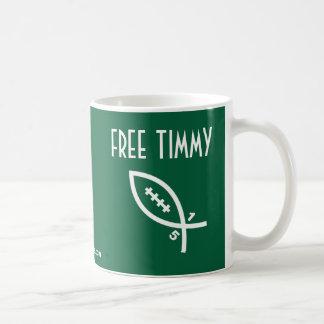 Free Timmy - NY Football Classic White Coffee Mug