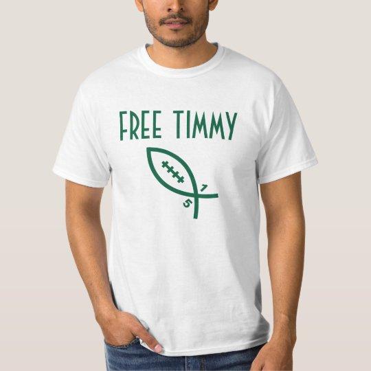Free Timmy - NY Football T-Shirt