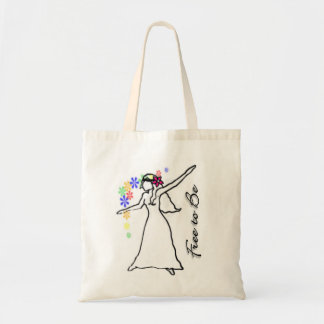 Free to Be: Flowerchild Eco Tote Tote Bag