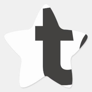 free to be star sticker