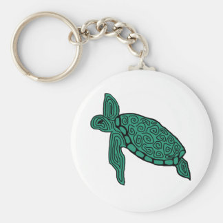 Free to roam sea turtle key chain
