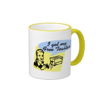 Free Toaster Mug
