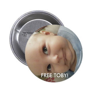 FREE TOBY! PINBACK BUTTONS