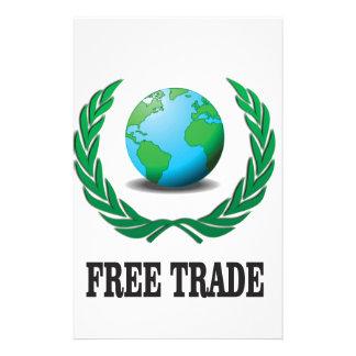 free trade fern stationery