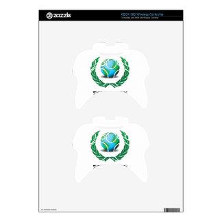 free trade fern xbox 360 controller skins