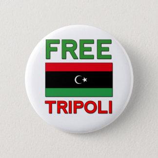 Free Tripoli Pinback Button