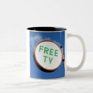 FREE TV - Mug