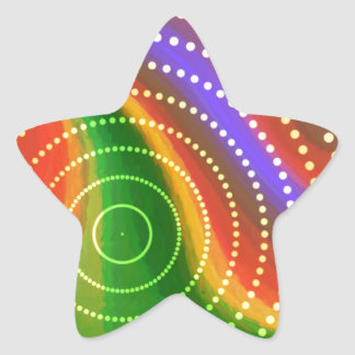 Free (U) Star Sticker