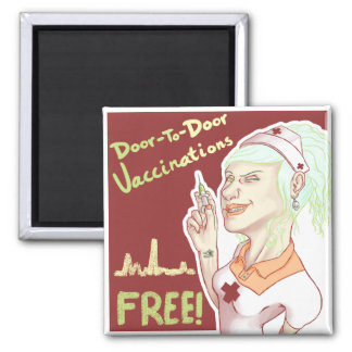 Free Vaccines Magnet