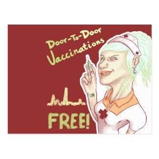 Free Vaccines Postcard