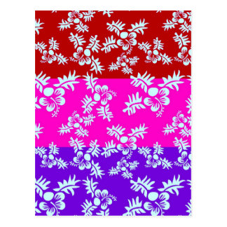 Free Vector Seamless Flower Pattern2 Postcard