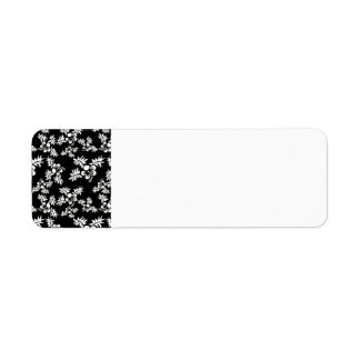 Free Vector Seamless Flower Pattern3 Label