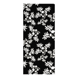 Free Vector Seamless Flower Pattern3 Full Color Rack Card
