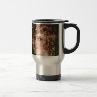 free vintage printable - dream girl ephemera jpg mug