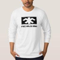 Free Wales Army T-Shirt