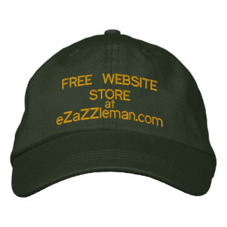 Free Website Store at eZaZZleman com Embroidered Hats